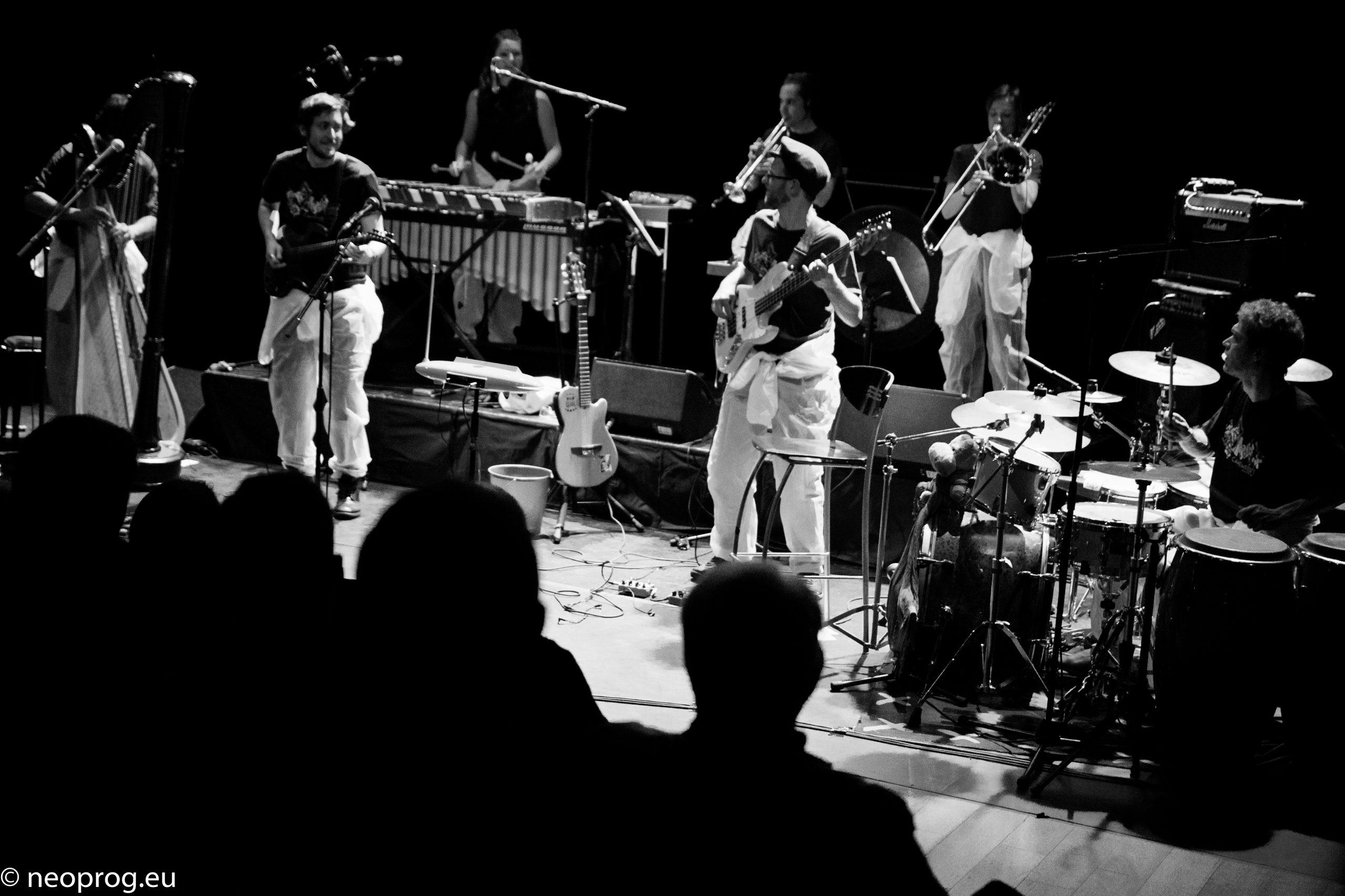Le groupe de musique Oiapok
